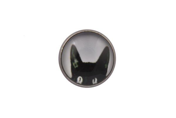 Black Cat Lapel Pin Badge