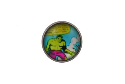 Comic Book Incredible Hulk Lapel Pin Badge