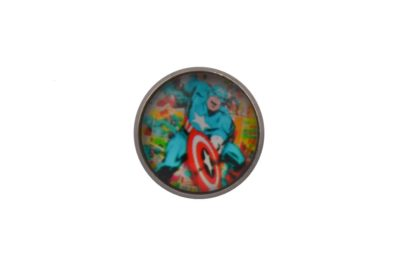 Comic Book Captain America Lapel Pin Badge