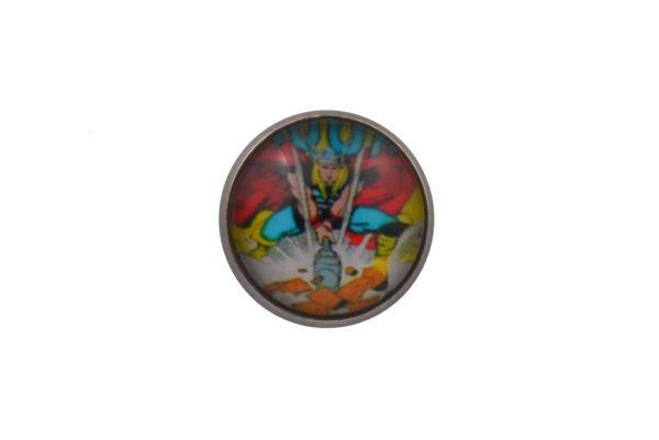 Comic Book Thor Lapel Pin