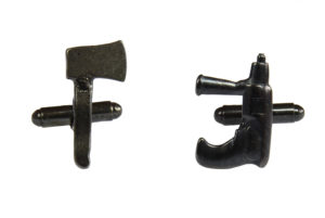 Axe and Drill Tools Cufflinks