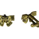 Gold Bow Cufflinks