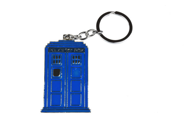 Dr Who Tardis Keyring