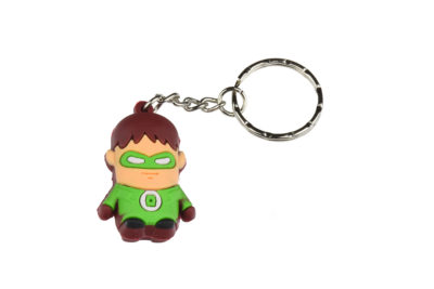 Superhero Green Lantern Keyring