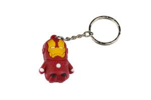Superhero Iron Man Keyring