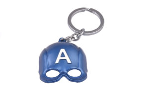 Captain America Mask Keyring