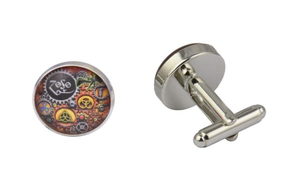Steampunk Led Zeppelin Cufflinks
