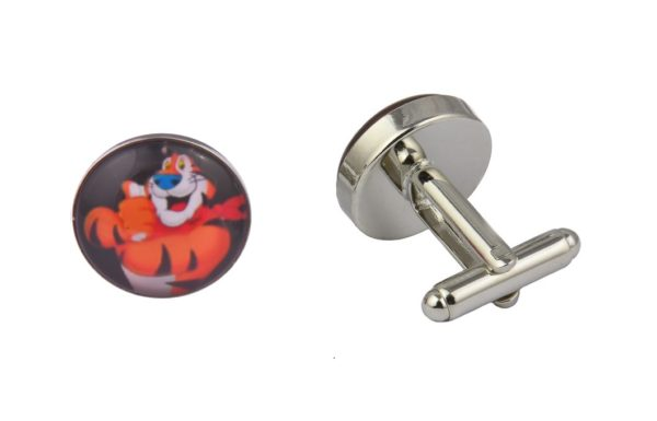 Tony The Tiger Cereal Cufflinks