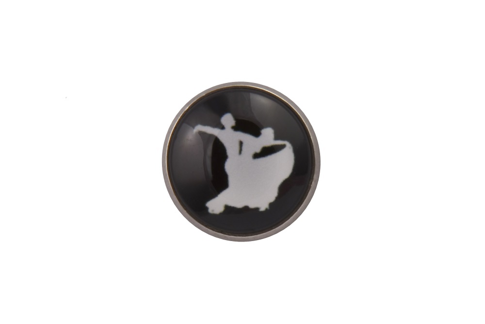 Ballroom Dancing Lapel Pin