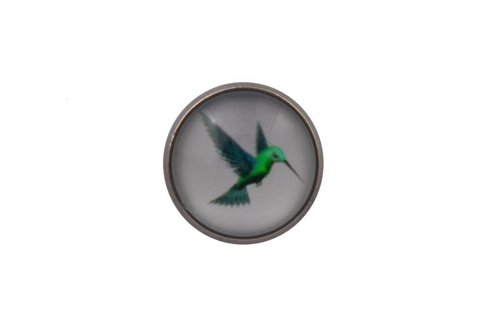 Hummingbird Lapel Pin Badge