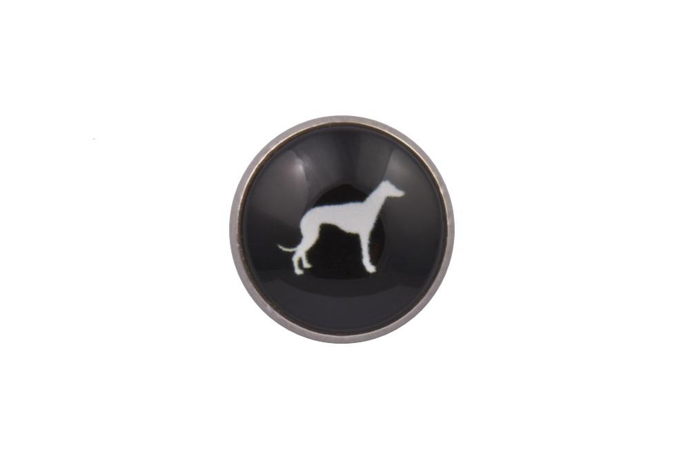Greyhound Dog Lapel Pin
