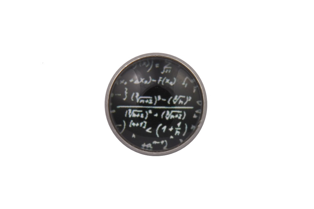 Mathematics Lapel Pin Badge