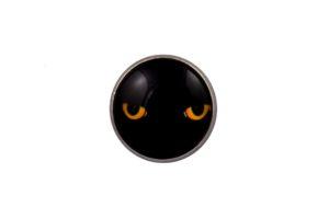 Panther Eyes Lapel Pin