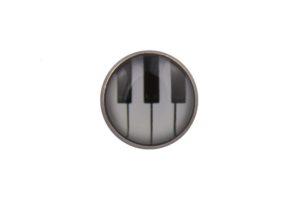 Piano Keys Lapel Pin