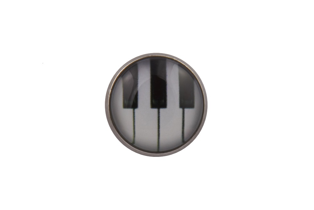 Piano Keys Lapel Pin