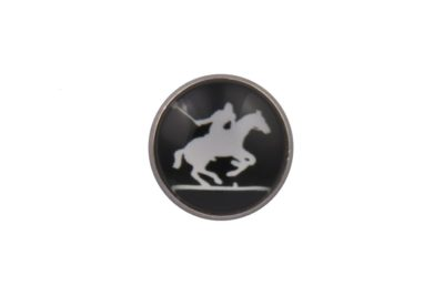 Polo Player Lapel Pin