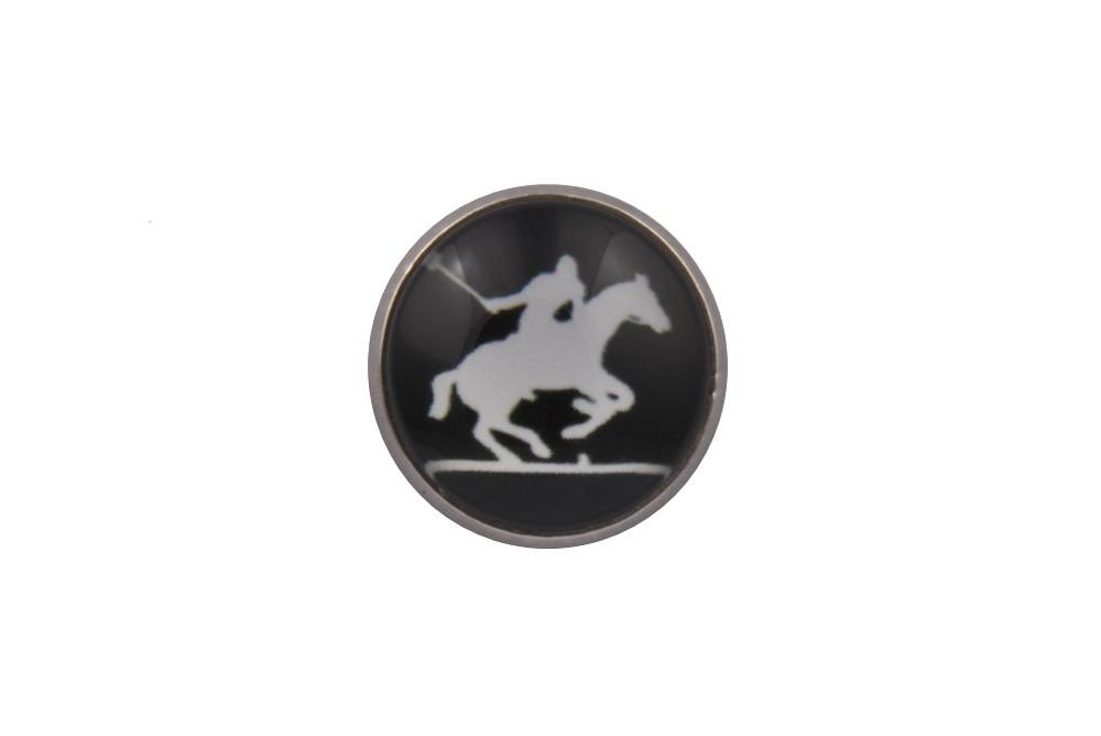 Polo Player Lapel Pin