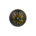 Viking Compass Lapel Pin