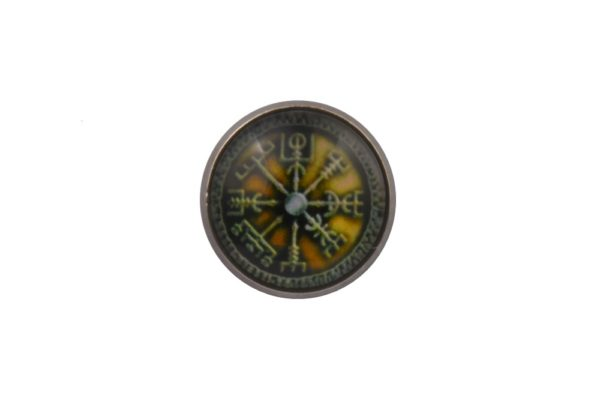 Viking Compass Lapel Pin