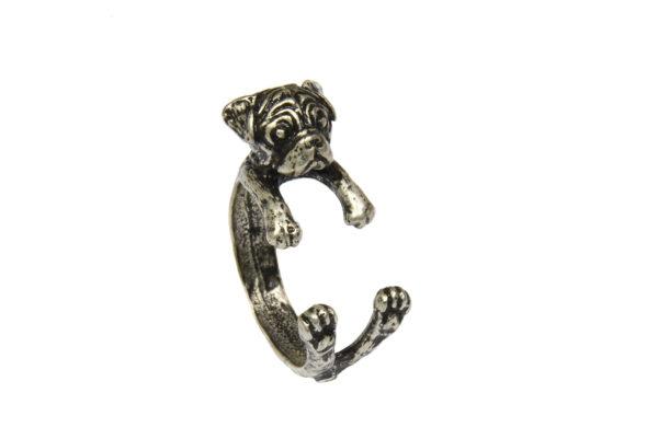 Pet Pug Dog Ring