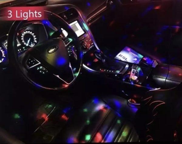 LED Car DJ Light