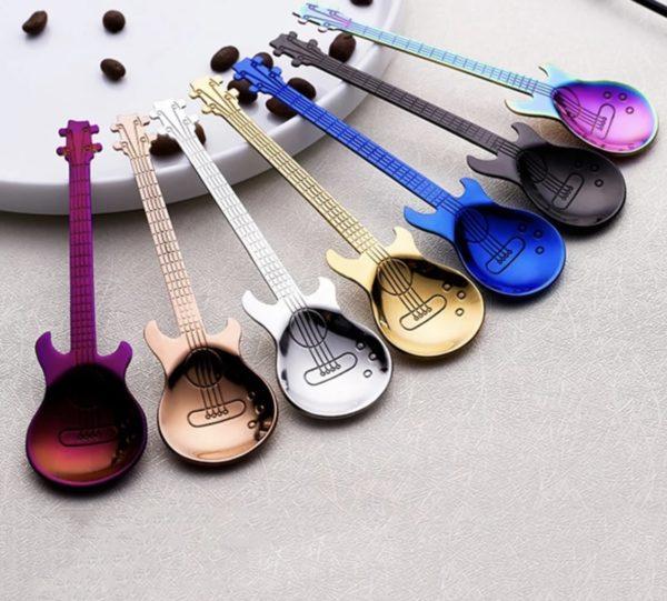 Guitar Spoon Set