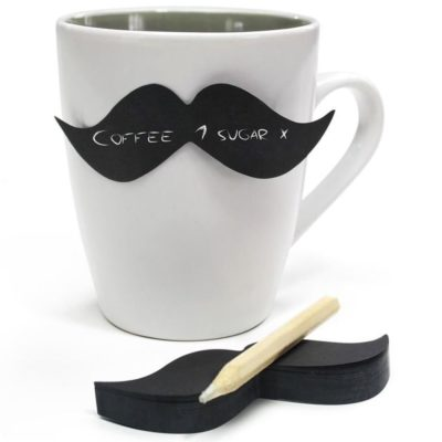 Moustache Sticky Notes