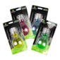 Multicoloured LED Light Bulb Solar Garden Lights