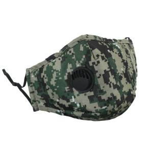 Camouflage Filter Face Mask