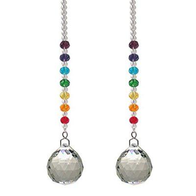 Hanging Crystal Rainbow Suncatcher