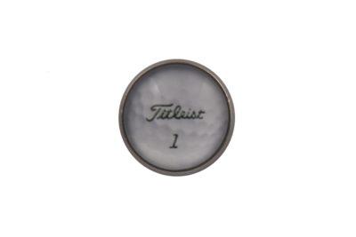 Golf Ball Jacket Lapel Pin