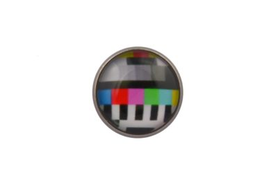 TV Test Card Lapel Pin
