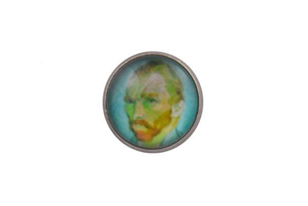 Van Gogh Jacket Lapel Pin