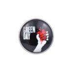 Green Day Jacket Lapel Pin