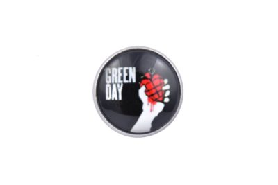 Green Day Jacket Lapel Pin