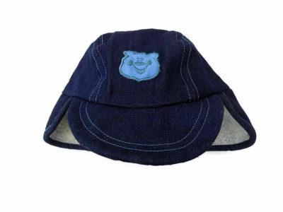 Denim Baby Sherpa Hat
