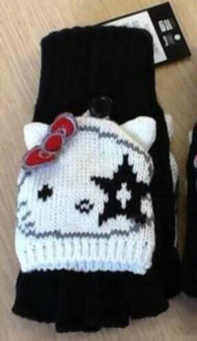 Hello Kitty Kiss Gloves