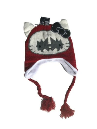 Hello Kitty Kiss Inca Hat