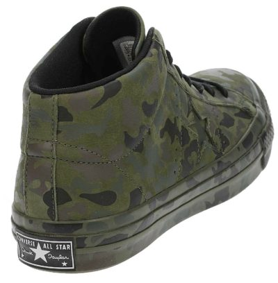 Converse One Star Chucky Taylor Unisex One Star Mid Camouflage Mens Trainers
