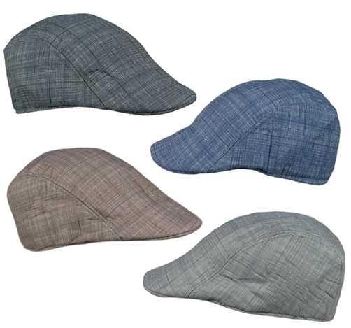 Unisex Flat Cap Hat Set