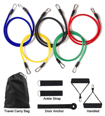 Resistance Band 11 Piece Set