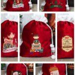 Personalised Merry Christmas Sacks
