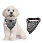 Pet Dog Patterned Neck Scarf Bandana