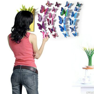 Butterfly Wall Magnet Stickers