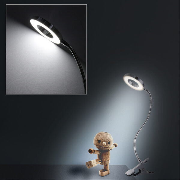 Clip On Table Lamp