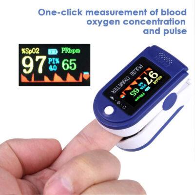 Fingertip Pulse Oxygen Monitor
