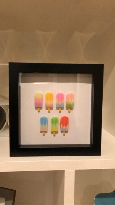Ice Lolly Pop Art