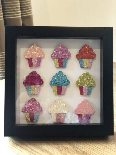 Cupcake Ice Cream Box Art