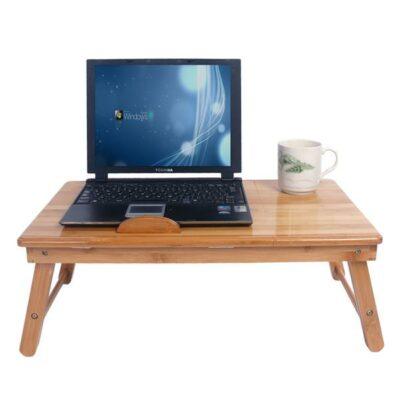 Adjustable Bamboo Computer Desk