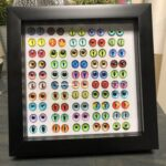 For Your Eyes Only Resin Box Frame Art